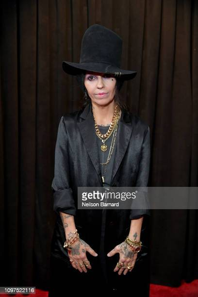Linda Perry attends the 61st Annual GRAMMY Awards at Staples Center on February 10 2019 in Los Angeles California