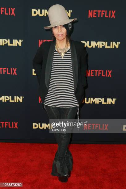 Linda Perry attends the premiere of Netflix's 'Dumplin'' at TCL Chinese 6 Theatres on December 06 2018 in Hollywood California