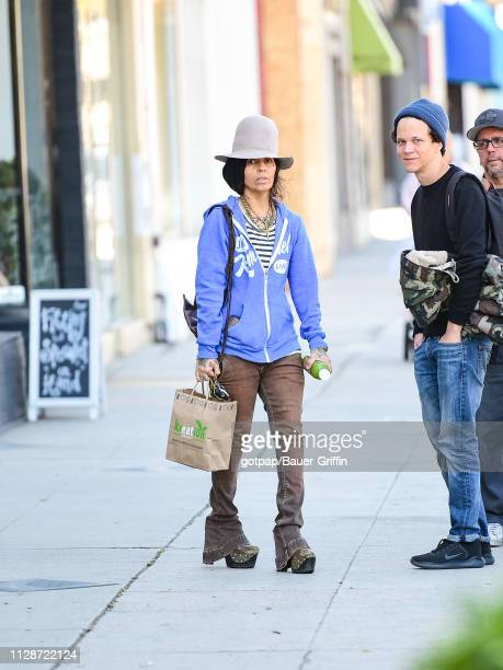 Linda Perry is seen on March 04 2019 in Los Angeles California