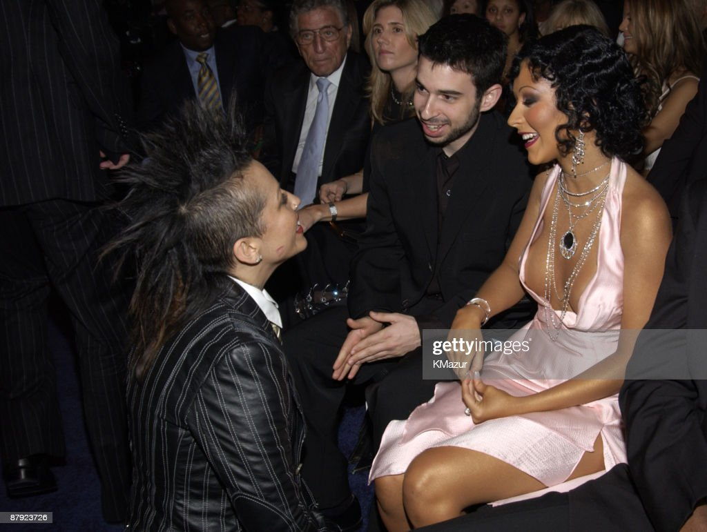Linda Perry, Jordan Bartman and Christina Aguilera