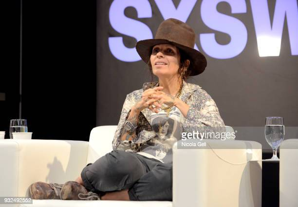 Linda Perry speaks onstage during SXSW at Austin Convention Center on March 15 2018 in Austin Texas