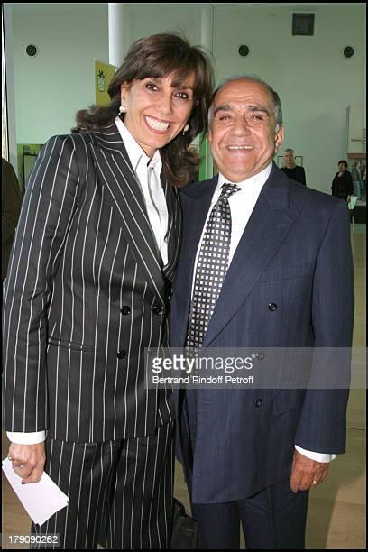 Linda Pinto at Pompidou Foundation Award Ceremony For The Chevalier de la Legion d'Honneur To Bernadette Chirac