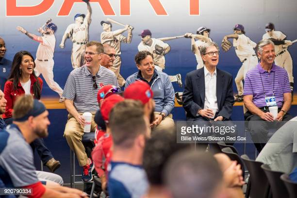 Linda Pizzuti Henry wife of Principal Owner John Henry President CEO Sam Kennedy Chairman Tom Werner Prinicpal Owner John Henry and President of...