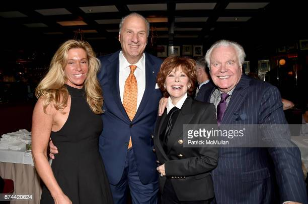 Linda Poll, Dean Poll, Jill St. John and Robert Wagner attend NINETY YEARS OF GALLAGHERS New York's iconic steakhouse at Gallaghers Steakhouse on...