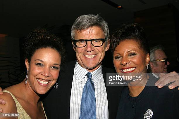 Linda Powell Earnest Thompson playwright and Leslie Uggams