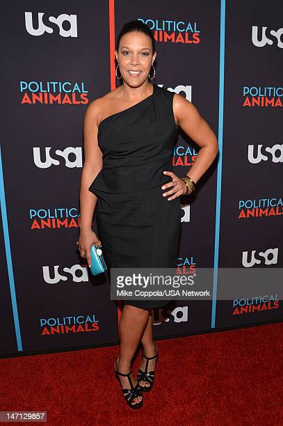 Linda Powell of Political Animals attends Political Animals Premiere Event at The Morgan Library Museum on June 25 2012 in New York City