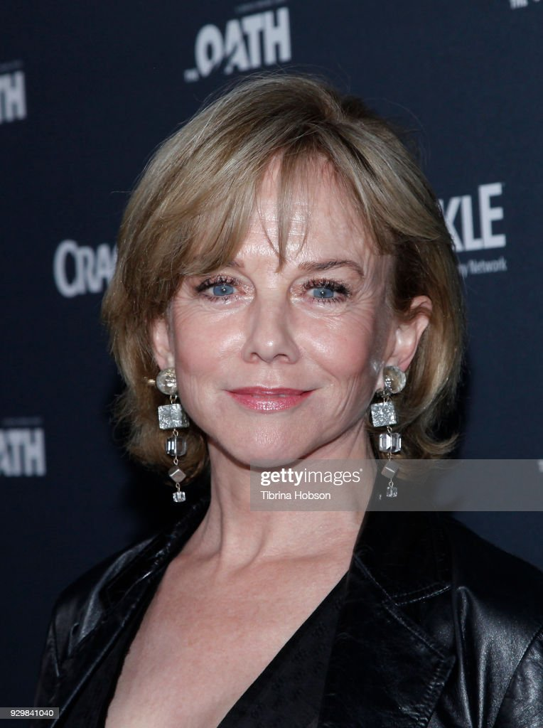 Linda Purl attends the premiere of Crackle's 'The Oath' at Sony Pictures Studios on March 7, 2018 in Culver City, California.