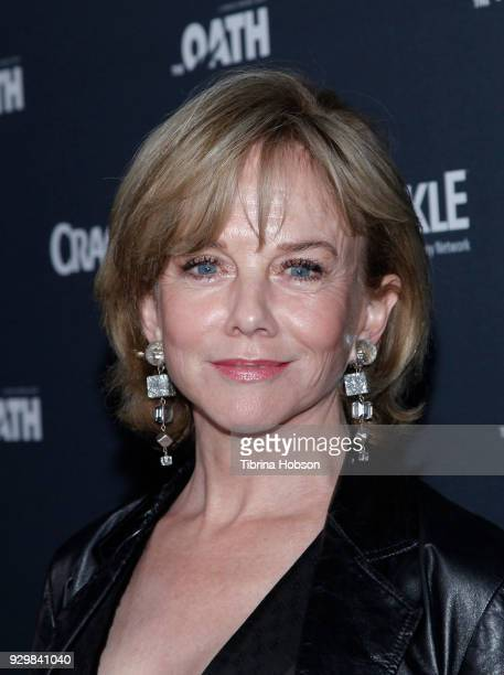 Linda Purl attends the premiere of Crackle's 'The Oath' at Sony Pictures Studios on March 7 2018 in Culver City California