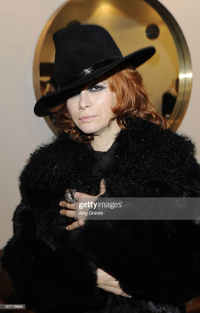 Linda Ramone attends Beth Yorn's Jewelry Show at Roseark on December 5, 2012 in West Hollywood, California.