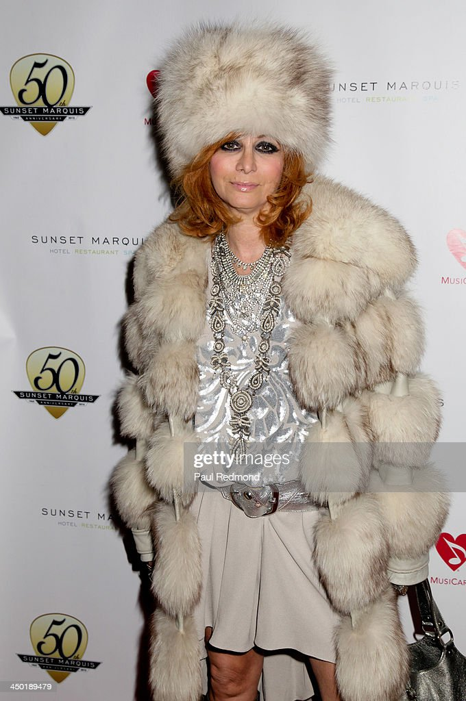 Linda Ramone attends Sunset Marquis Hotel 50th Anniversary Birthday Bash at Sunset Marquis Hotel & Villas on November 16, 2013 in West Hollywood, California.
