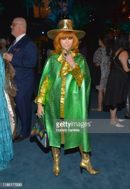 Linda Ramone attends the 2019 LACMA Art Film Gala Presented By Gucci at LACMA on November 02 2019 in Los Angeles California
