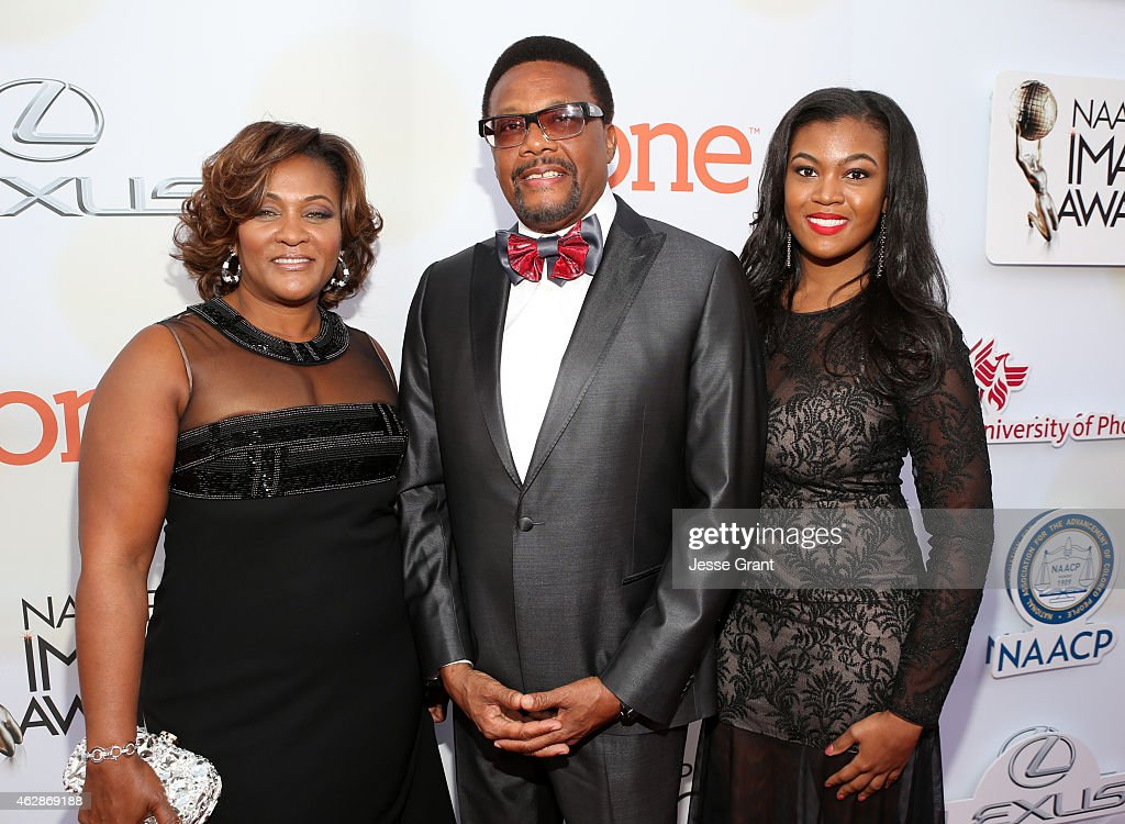 46th NAACP Image Awards Presented By TV One - Red Carpet : News Photo