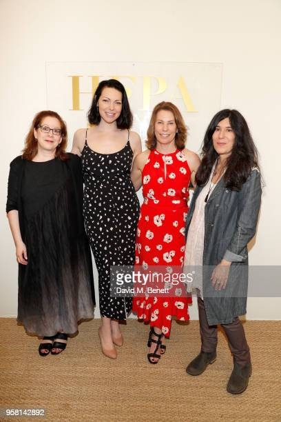 Linda Reisman Laura Prepon Anne Harrison and Debra Granik attend the Leave No Trace party presented by PerrierJouet at Nikki Beach on May 13 2018 in...