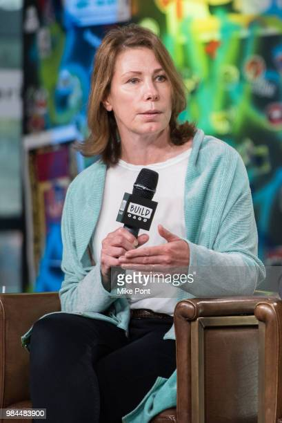 """Linda Reisman visits Build Series to discuss """"Leave No Trace"""" at Build Studio on June 26, 2018 in New York City."""