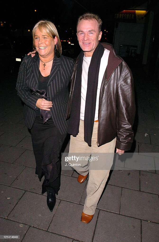 Linda Robson's Party Benefitting the Children's Society - Arrivals