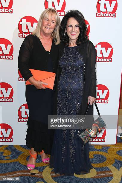 Linda Robson and Lesley Joseph attend the TV Choice Awards 2014 at London Hilton on September 8 2014 in London England