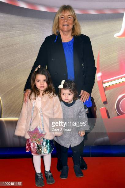 """Linda Robson attends the """"Paw Patrol"""" gala screening at Cineworld Leicester Square on January 19, 2020 in London, England."""