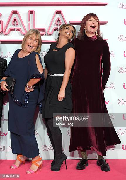Linda Robson Katie Price and Janet StreetPorter attend the ITV Gala at London Palladium on November 24 2016 in London England