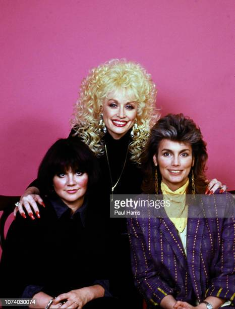 Linda Ronstadt, Dolly Parton and Emmylou Harris photographed April 9, 1987 Hollywood , Los Angeles, California