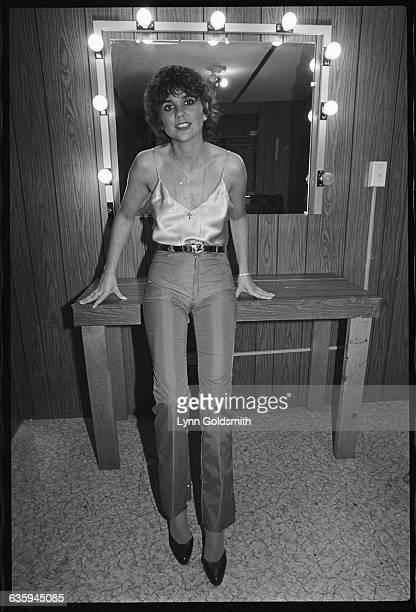 Linda Ronstadt in Her Dressing Room