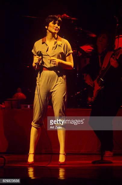 Linda Ronstadt in performance circa 1970 New York