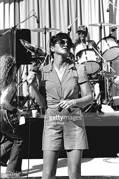 Linda Ronstadt performing at 'Mountain Aire' at the Calaveras County Fairgrounds in Angels Camp California on June 91978