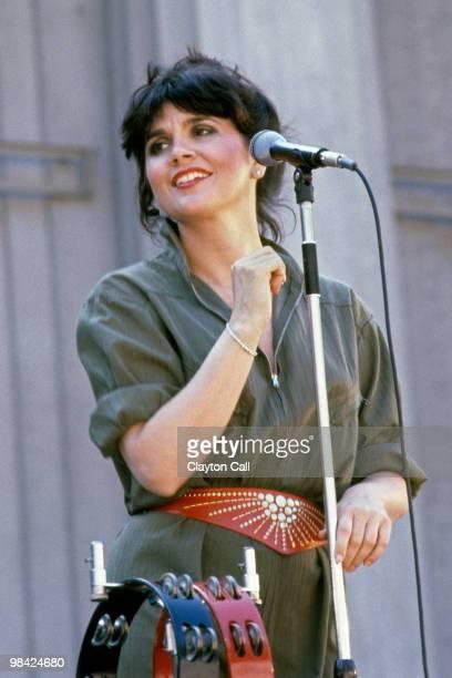 Linda Ronstadt performing at the Greek Theater in Berkeley California on September 261982