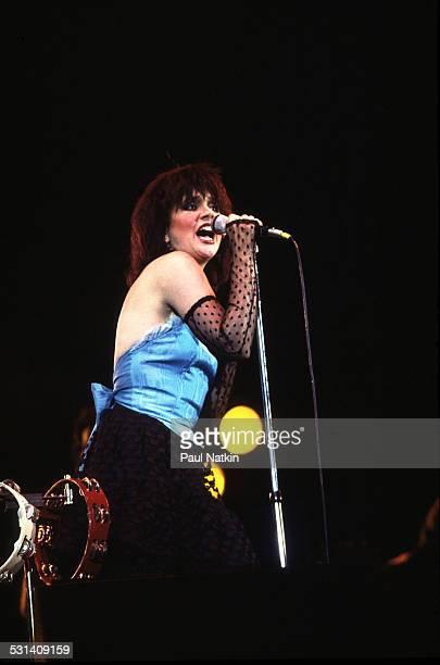 Linda Ronstadt performing Milwaukee Wisconsin July 7 1983