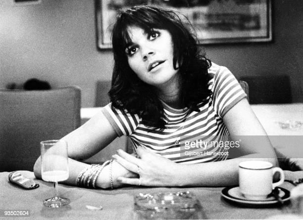 Linda Ronstadt posed in Amsterdam Netherlands in 1976