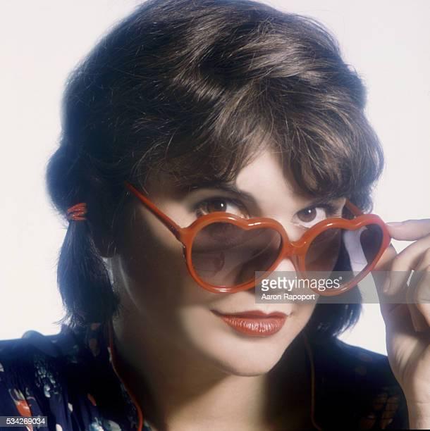 Linda Ronstadt shot in 1982 for her album Get Closer shot in Los Angeles California