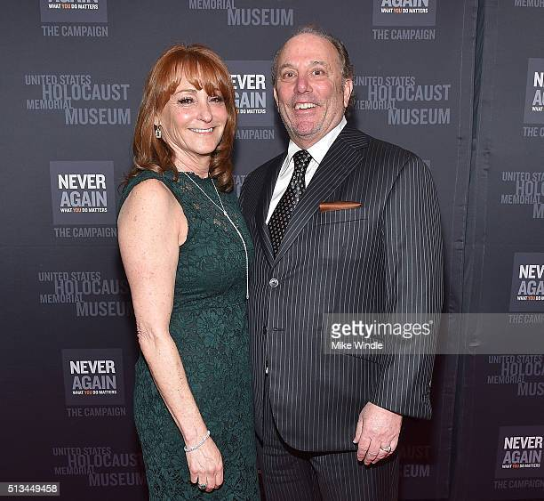 Linda Rubin and Tony Rubin attend the United States Holocaust Memorial Museum presents 2016 Los Angeles Dinner What You Do Matters at The Beverly...