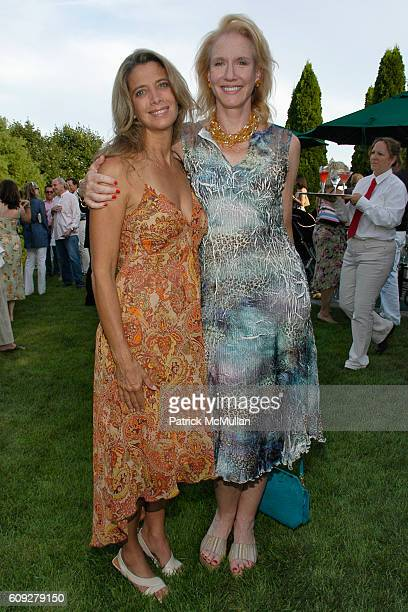 Linda Rufo and Amy Treitel attend WILDLIFE RESCUE CENTER OF THE HAMPTONS Benefit at Cobb Road on July 21 2007 in Watermill NY