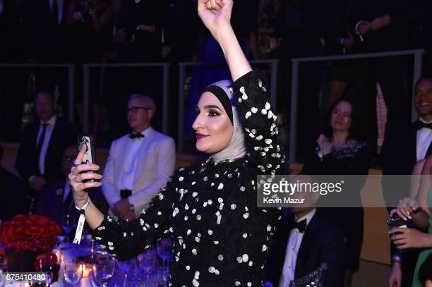 Linda Sarsour attends 2017 Time 100 Gala at Jazz at Lincoln Center on April 25 2017 in New York City
