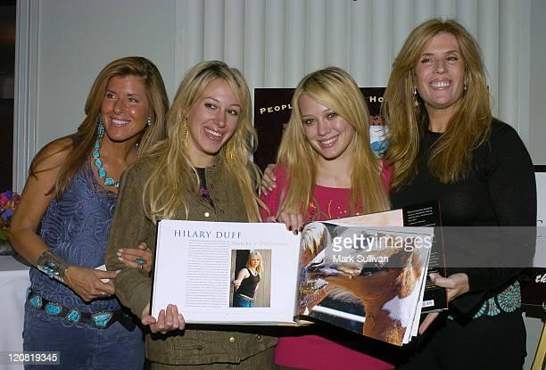 Linda Solomon photographer Haylie Duff Hilary Duff and Jill Rappaport coauthor