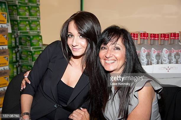 Linda Sorrentino and Melissa Sorrentino promotes Devotion Vodka at Gary's Wine and Liquor Store on August 25 2011 in Wayne New Jersey