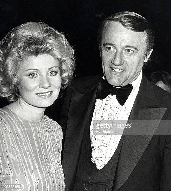 Linda Staab and Robert Vaughn during 4th Annual People's Choice Awards in Los Angeles California United States