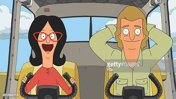 BOB'S BURGERS Linda takes a flying lesson from local seaplane pilot 'Upskirt Kurt' in the allnew 'Seaplane' episode of BOB'S BURGERS airing Sunday...