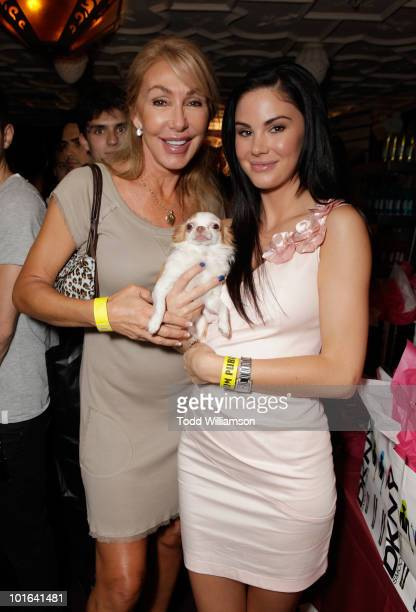 Linda Thompson and Jayde Nicole at the Melanie Segal's Celebrity SOS Lounge at House of Blues Sunset Strip on June 4 2010 in West Hollywood California