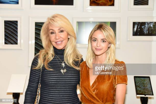 Linda Thompson and Kaitlynn Carter attend ELLE The Harmonist celebrate fragrance and feng shui on October 12 2017 in Los Angeles California
