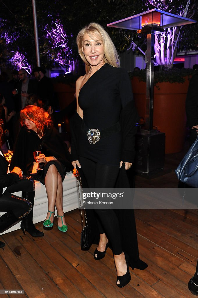 Linda Thompson attends Red Light Management Grammy After Party at Mondrian Los Angeles on February 10, 2013 in West Hollywood, California.