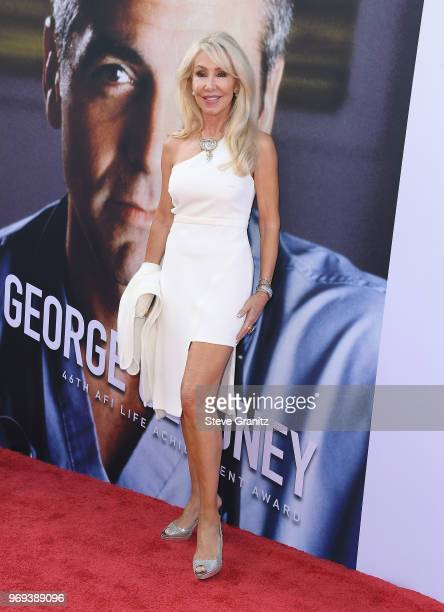 Linda Thompson attends the American Film Institute's 46th Life Achievement Award Gala Tribute to George Clooney at Dolby Theatre on June 7 2018 in...