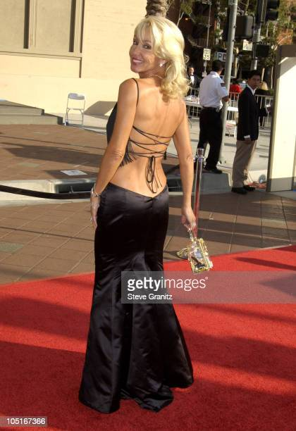 Linda Thompson during 2003 Emmy Creative Arts Awards Arrivals at Shrine Auditorium in Los Angeles California United States