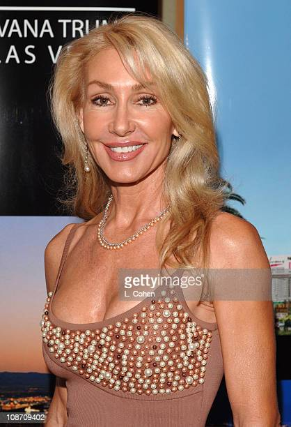 Linda Thompson during Ivana Las Vegas Cocktail Party at Regent Beverly Wilshire Hotel in Beverly Hills California United States