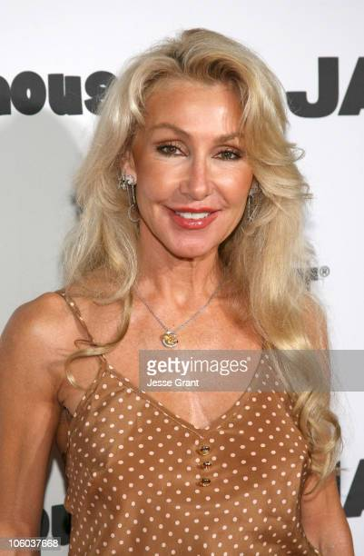 Linda Thompson during Jane Magazine's Go Naked Party Arrivals at Private Residence in Beverly Hills California United States