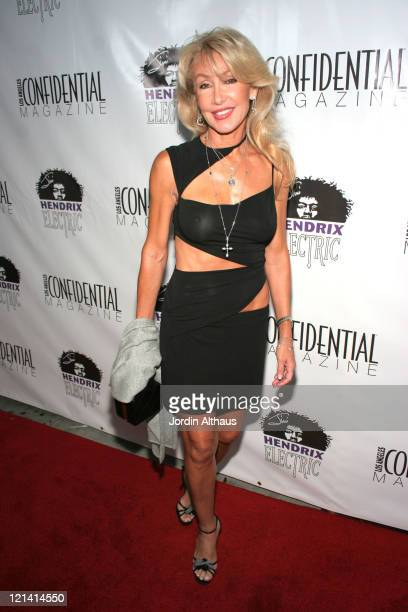 Linda Thompson during Los Angeles Confidential Magazine PreEmmy Party Honoring Kyra Sedgwick Presented by Hendrix Electric Vodka August 25 2006 at...