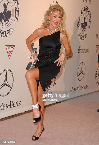 Linda Thompson during MercedesBenz Presents the 17th Carousel of Hope Ball Arrivals at Beverly Hilton Hotel in Beverly Hills California United States