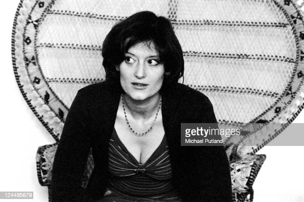 Linda Thompson portrait London January 1974