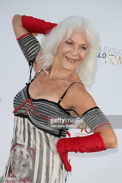 Linda Thorson attend 'The Young and the Restless' party marking the 40th anniversary of the TV series at MonteCarlo Bay Resort Hotel on June 10 2013...