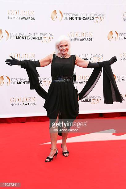Linda Thorson attends the closing ceremony of the 53rd Monte Carlo TV Festival on June 13 2013 in MonteCarlo Monaco
