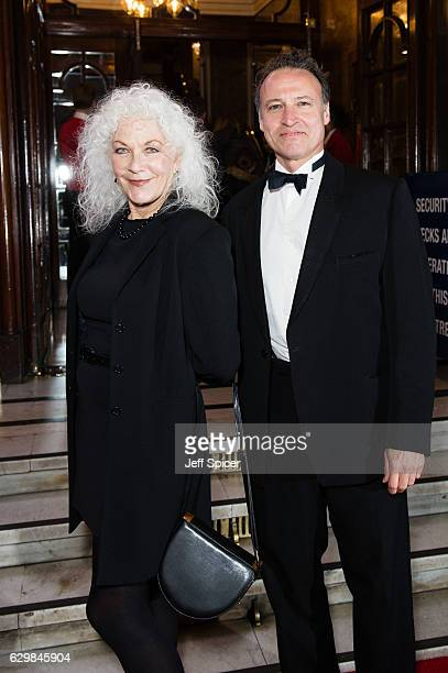 Linda Thorson attends the opening night of Cinderella at London Palladium on December 14 2016 in London England Pantomime returns to the London...